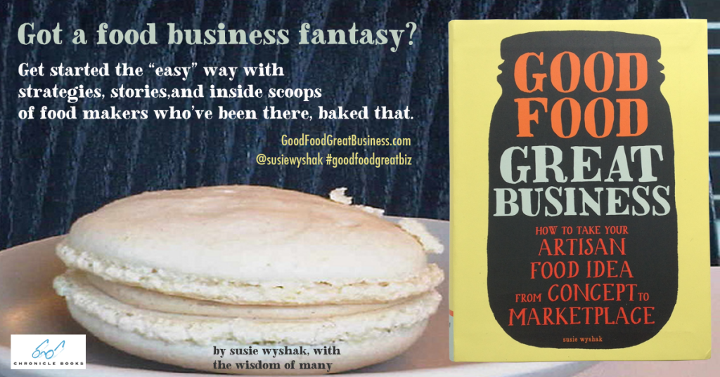 Good Food Great Business book macaron