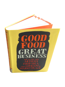 Good Food Great Business book top view